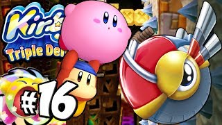 Kirby Triple Deluxe: Miniboss Mayhem! Beetle Copy World 5