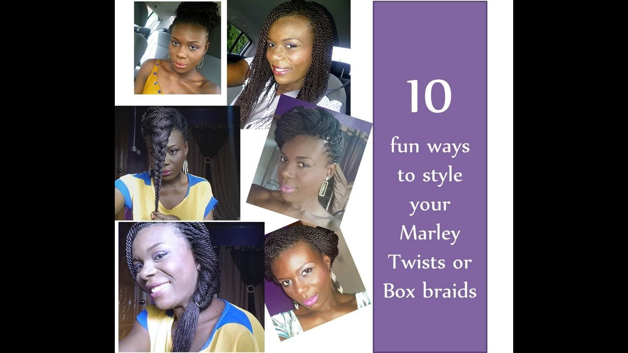 Ways to Wear Twist Braids