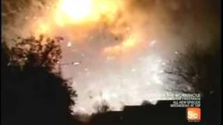 Destroyed In Seconds Fireworks Explosion