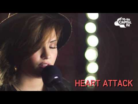 Heart Attack - Demi Lovato (Acoustic Live Session at Capital FM) || AUDIO.