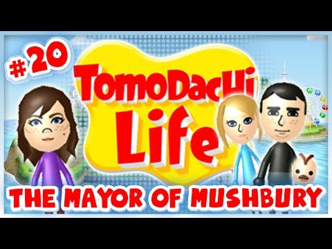 Tomodachi Life - #20 - The Mayor of Mushbury!
