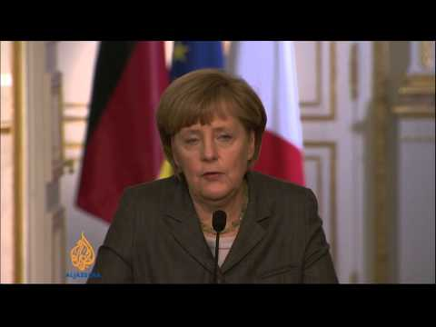 Germany's Merkel says EU will discuss Ukraine sanctions