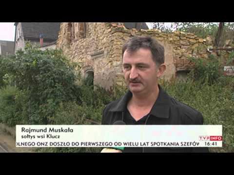 Opuszczone domy straszą w Kluczu (TVP Info, 27.09.2013 r.)