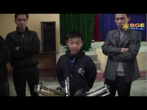 Hội thi khoa học kỹ thuật dành cho học sinh trung học cấp tỉnh Bắc Giang lần 1