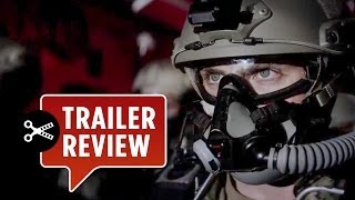 Instant Trailer Review - Godzilla Official Trailer #1 (2014) Aaron Taylor-Johnson, Elizabeth Olsen Movie HD