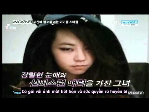 [SHVN] [Vietsub] Sohee on Mangazine1.avi