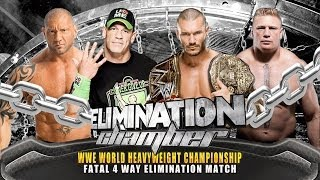 WWE Elimination Chamber 2014 John Cena Vs Randy Orton Vs