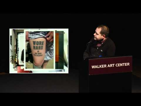 Design Lecture: Anthony Burrill