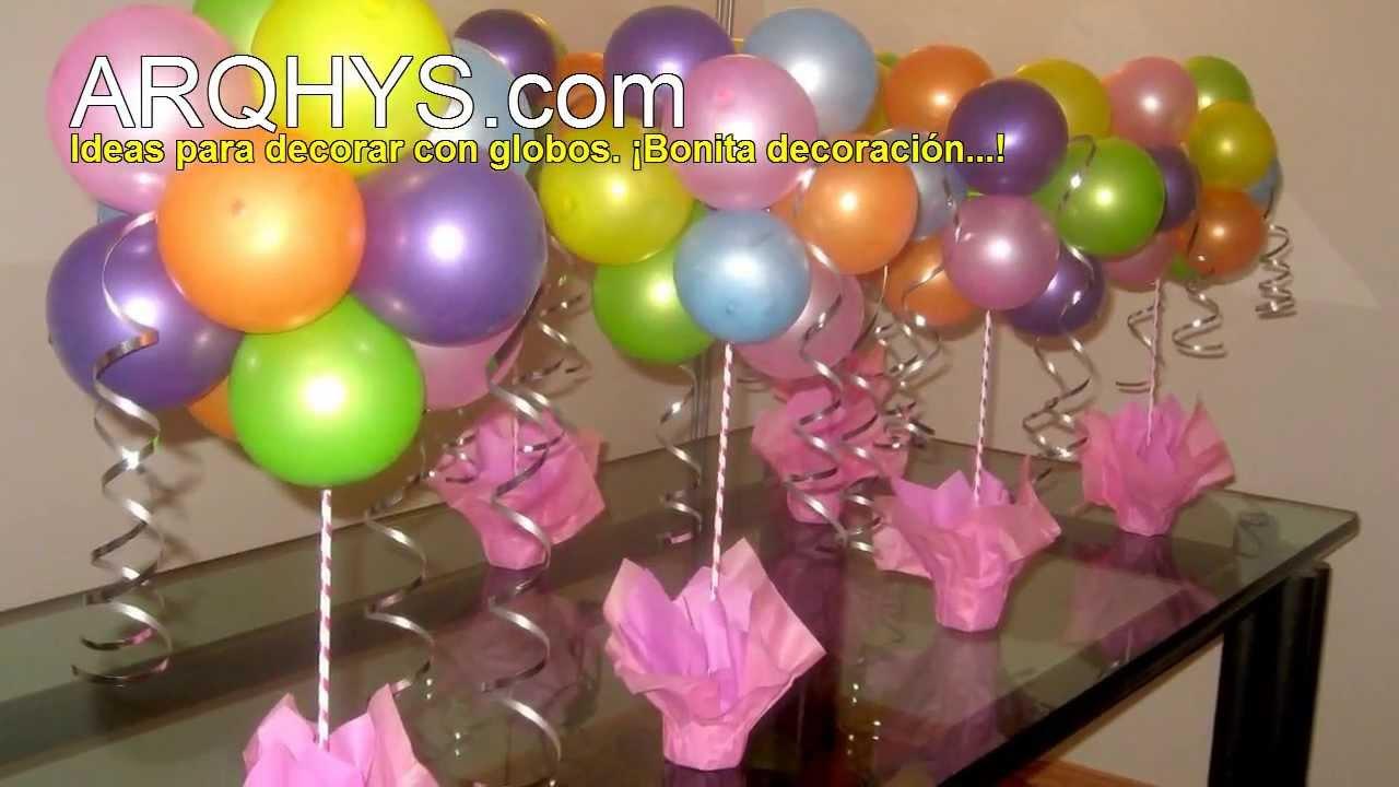 Decoracion para grado hombre for Decoracion para pared con globos