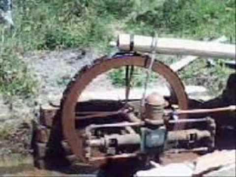 Funcionamento Roda d'agua