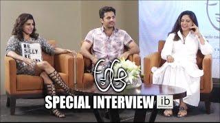 A Aa Special Interview - Nithin,Samantha,Nadiya