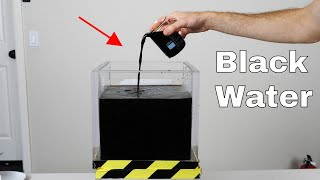 Is it Actually Possible to Make Black Water? What Does it Taste Like?