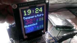 Echtzeit-Uhr mit DS1307 und LCD-Anzeige