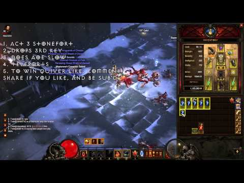 Steps to Crafting a Hellfire Ring + Keywarden Tips Diablo 3 -