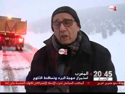 ميدلت : الثلوج الكثيفة تعزل عدة مناطق وتعطل حركة المرور