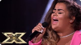 Scarlett Lee makes Robbie Williams cry on The X Factor! | Six Chair Challenge | The X Factor UK 2018