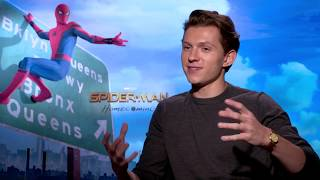 Tom Holland On His Favorite Science Pun and Spider-Man: Homecoming