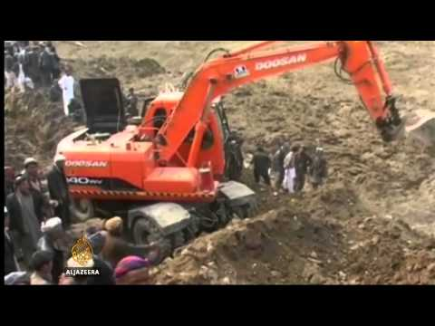 Afghan landslide survivor search abandoned
