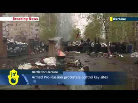 Ukraine Pro-Russian Separatist Violence: Kiev anti-terror operation launched in occupied Slaviansk