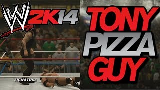 WWE 2K14 Tom Cushnie Vs TonyPizzaGuy