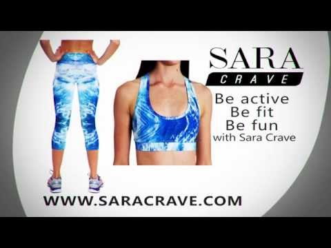Sara Crave, Limited Edition Leggings, With Matching Crop Top