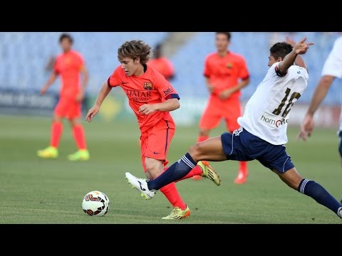 Alen Halilovic's debut with FC Barcelona