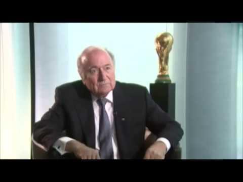 Sepp Blatter on corruption in FIFA