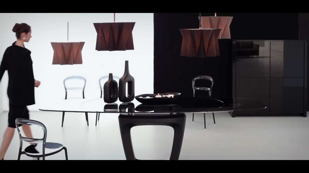 Tavolo orbital di calligaris by pininfarina youtube for Arredamenti bergamin