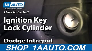 How To Install Repair Replace Ignition Key Lock Cylinder