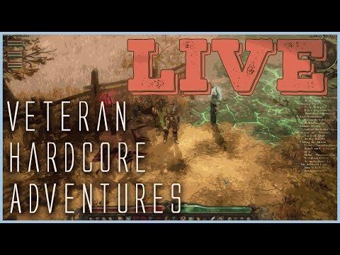 Grim Dawn \\ Veteran Hardcore Adventures LIVE! \\ Build 27 Totem Shaman