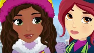 Lego Friends Vlog 1 - Triky na Snehu