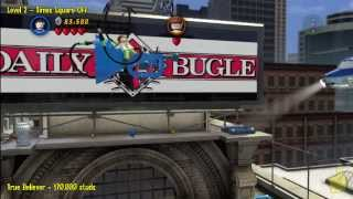 Lego Marvel Super Heroes: Level 2 Times Square Off Story
