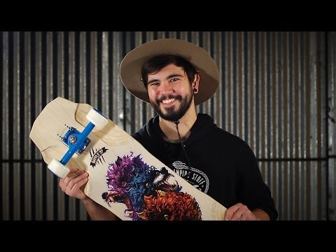 Longboard BoardGuide Reviews: The Baffle 37 with Sean