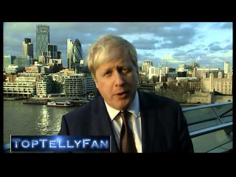 Boris Johnson vs Bob Crow - London tube strike (Channel 4 News, 4.2.14)