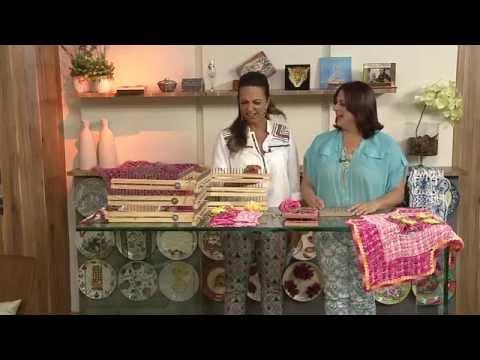 Aprenda a fazer um lindo tapete com o tear!