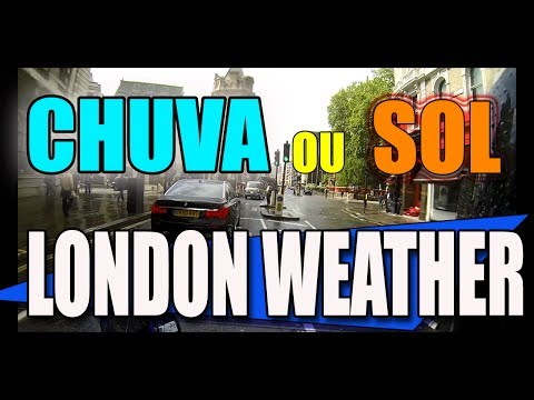 Chuva ou Sol ? London weather + SALVES | MOTO filmadores UK