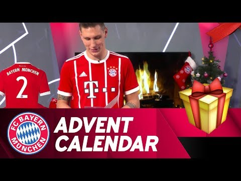 What is Niklas Süle describing? | FC Bayern Xmas Advent Calendar #2