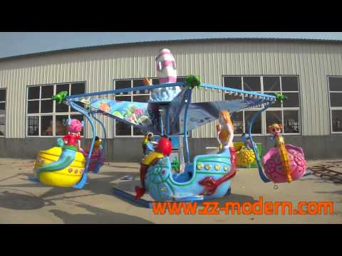 kids rides - modern amusement
