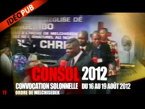 CONSOL 2012 DU 16 AU 19 AOT  MONTRAL AVEC LE REV. ESPRANCE MBAKADI