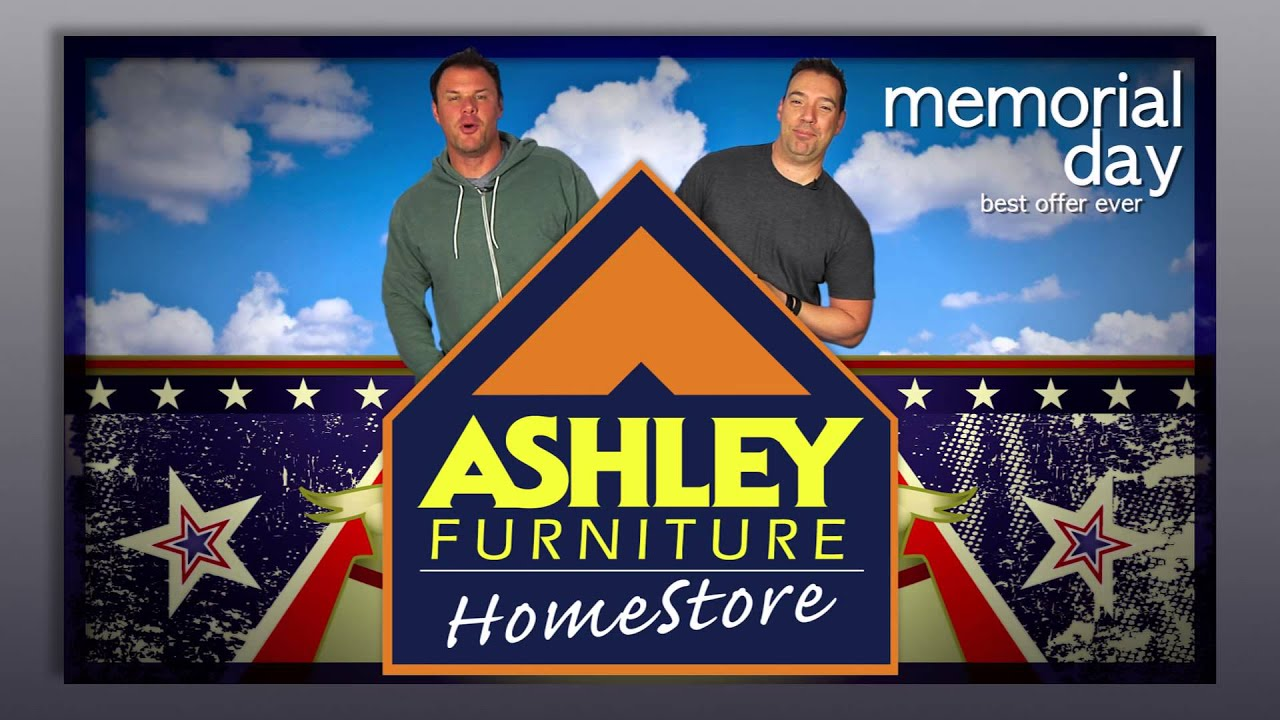 Ashley Furniture Homestore Memorial Day Sale Johnjay And Rich Open Youtube