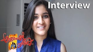 Attarintiki Daredi Movie Making Navika Kotia Interview At