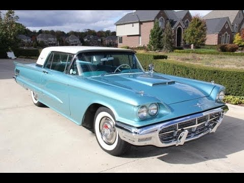 1960 ford thunderbird test drive classic muscle car for sale in mi vanguard motor sales youtube. Black Bedroom Furniture Sets. Home Design Ideas