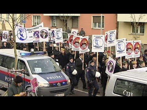 Choques en Insbruk entre anti-fascistas y grupos estudiantiles derechistas