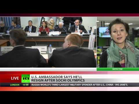 U.S. Ambassador to Russia will resign after Sochi Olympics