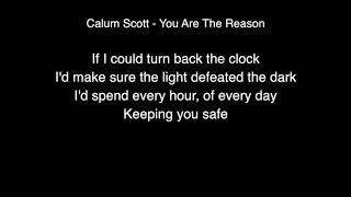 Calum Scott - You are the reason Lyrics (Live From Abbey Road Studios)