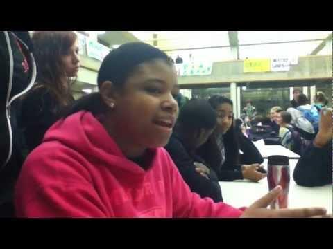 Girl rapping makes boy choke: Rap battle