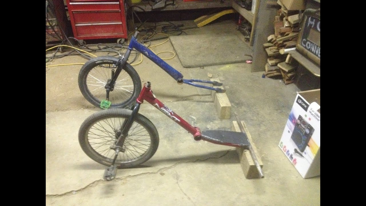 How To Build A Pedal Wheel For A Drift Trike Youtube