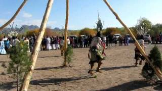 Apache Sunrise Dance In San Carlos