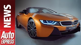 New BMW i8 Roadster - hybrid sports car gets convertible option. Auto Express.