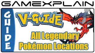 Pokémon X & Y All Legendary Pokémon Locations (Guide